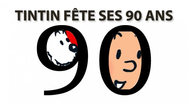 Tintin fete ses 90 ans