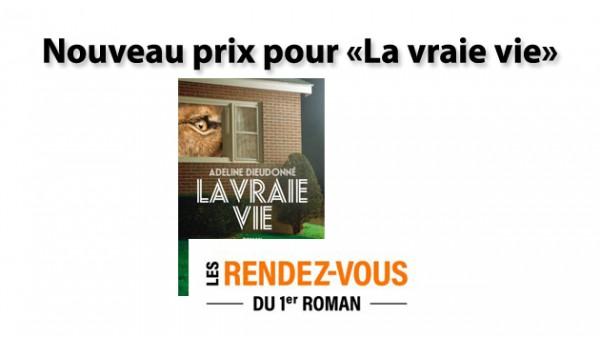 Le prix canadien des Rendez-vous du Premier roman